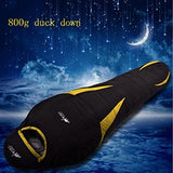 Ultralight Down Sport Hiking Sleeping Bags Outdoor Winter Camping Duck Down Adult Mummy Waterproof Sleeping Bags 3 Colour - YourProStore outdoor survival garden house