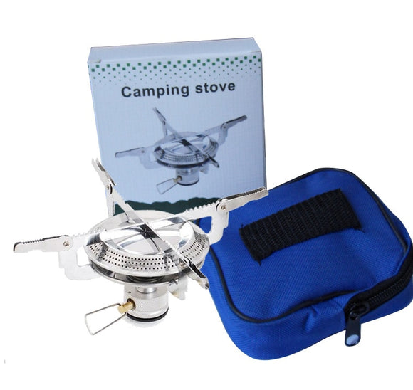 Poratable Folding Stove Gas Burner Camping - Cooker