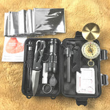 10 In 1 Emergency Survival Gear Professional First Aid Kit - Survival Kit