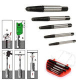 5Pcs Screw Extractor Drill Bits Speed Out - Tools