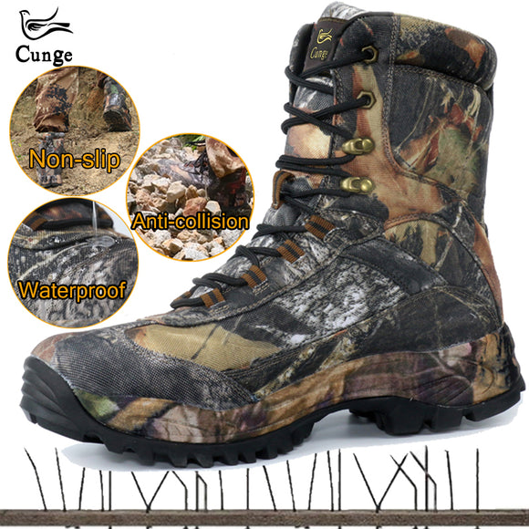 CUNGE Shoes Waterproof Hiking Boots - Shoes
