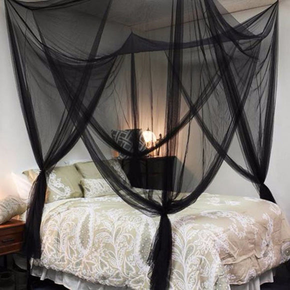 Black /White Mosquito Net Insect Princess Bed Decor WZ102 - Mosquito Net