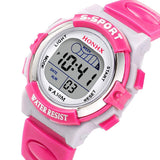Waterproof Children Boys Digital LED Sports Watch - Kids
