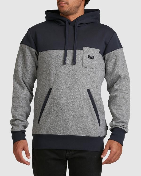 Billabong 39 Degrees South Pop Hood Navy S