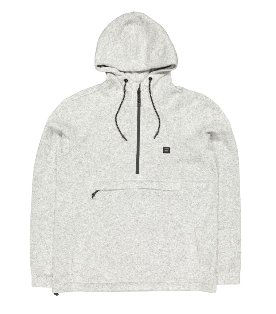 Billabong Boundary Pullover Hoodie Grey S