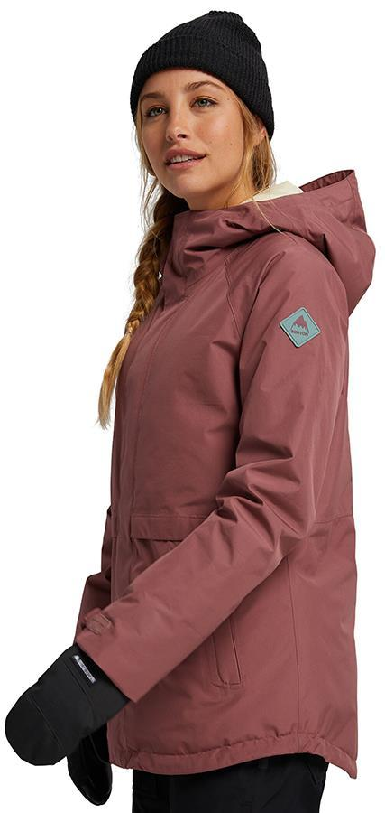 Burton Womens Gore-Tex Kaylo Shell Jacket ROSE BROWN XXS