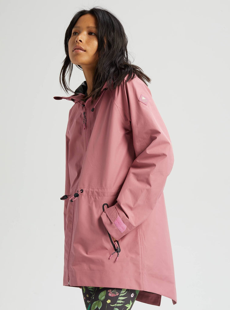 Burton Womens Gore Tex Packrite Rain Jacket