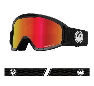 Dragon DX2 Snow Goggle Split / Red Ion w/ Rose