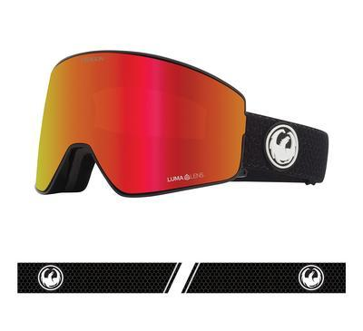 Dragon PXV2 Snow Goggle Split / Red Ion w/ Light Rose