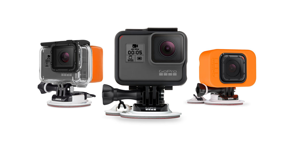GoPro Surfboard Mount with Tether