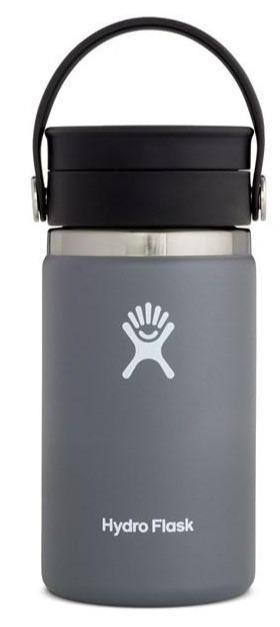Hydro Flask 354mL Wide Mouth W/Flex Sip Lid Coffee Cup STONE