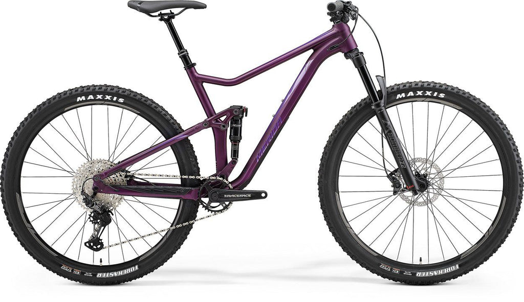 MERIDA 2021 ONE TWENTY 600 BIKE - MATT DARK PURPLE