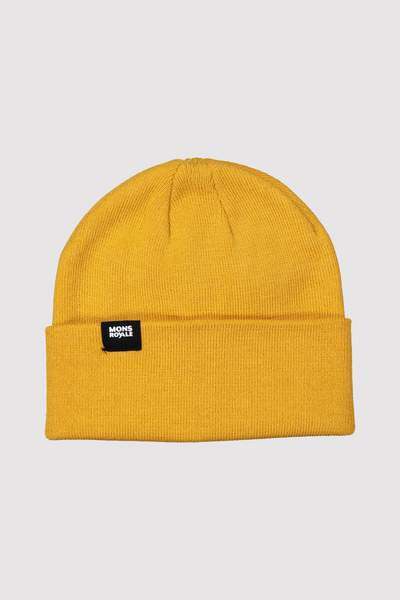 Mons Royale McCloud Beanie gold OS