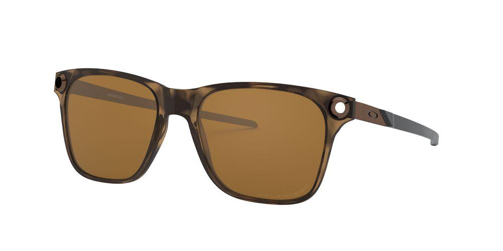 OAKLEY APPARITION SUNGLASS Brown Tortoise W/Tungsten Iridium Polarized