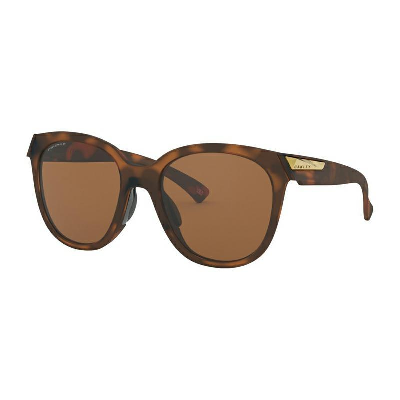 OAKLEY LOW KEY SUNGLASSES Matte Brown Tortoise Prizm Tungsten Pol