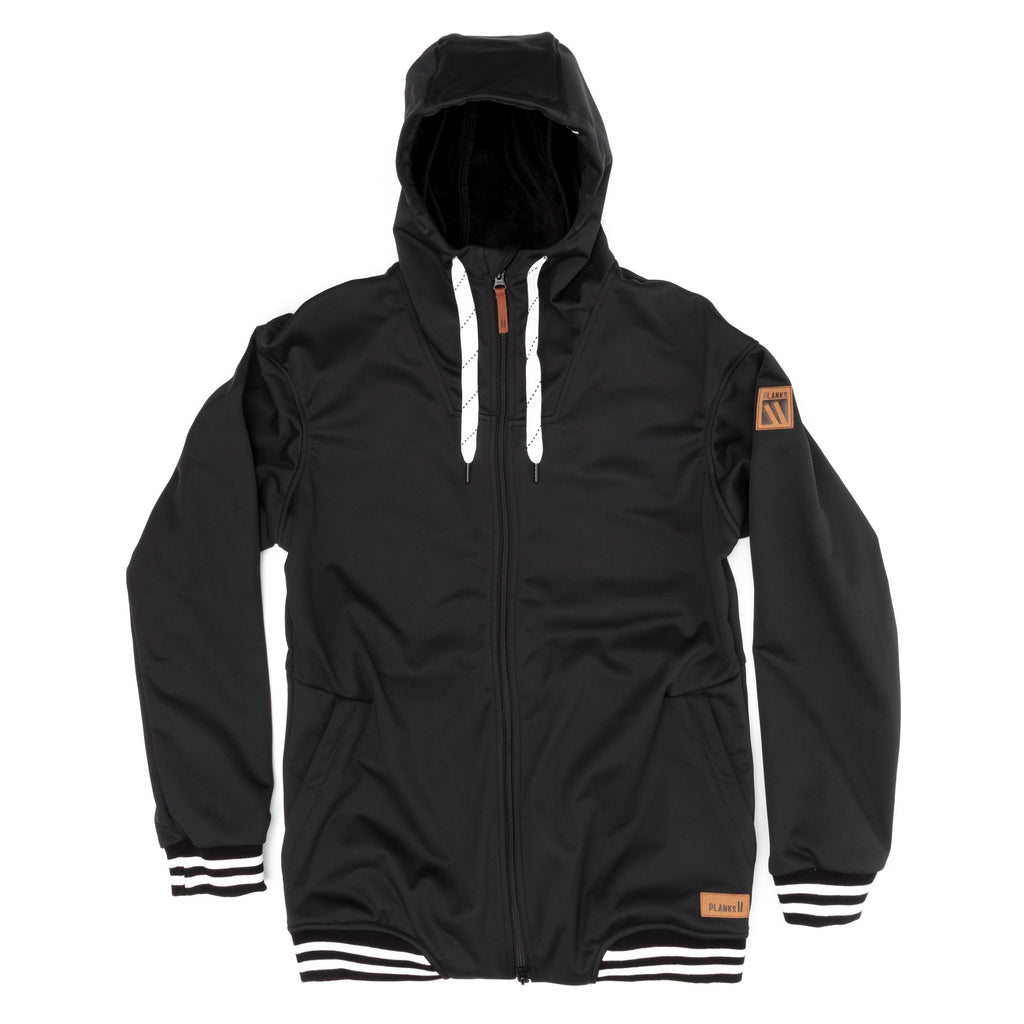 PLANKS Ivy Soft Shell Jacket Blk M