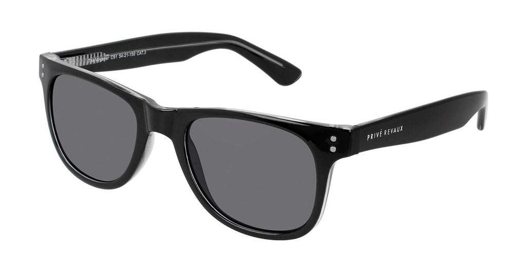 PRIVE REVAUX THE VOYAGER POLARISED SUNGLASSES
