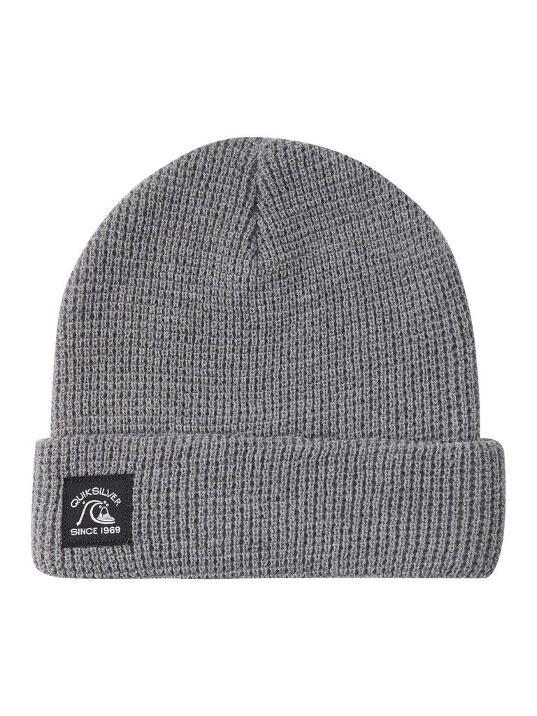 Quiksilver Localize Cuff Beanie Heather Grey