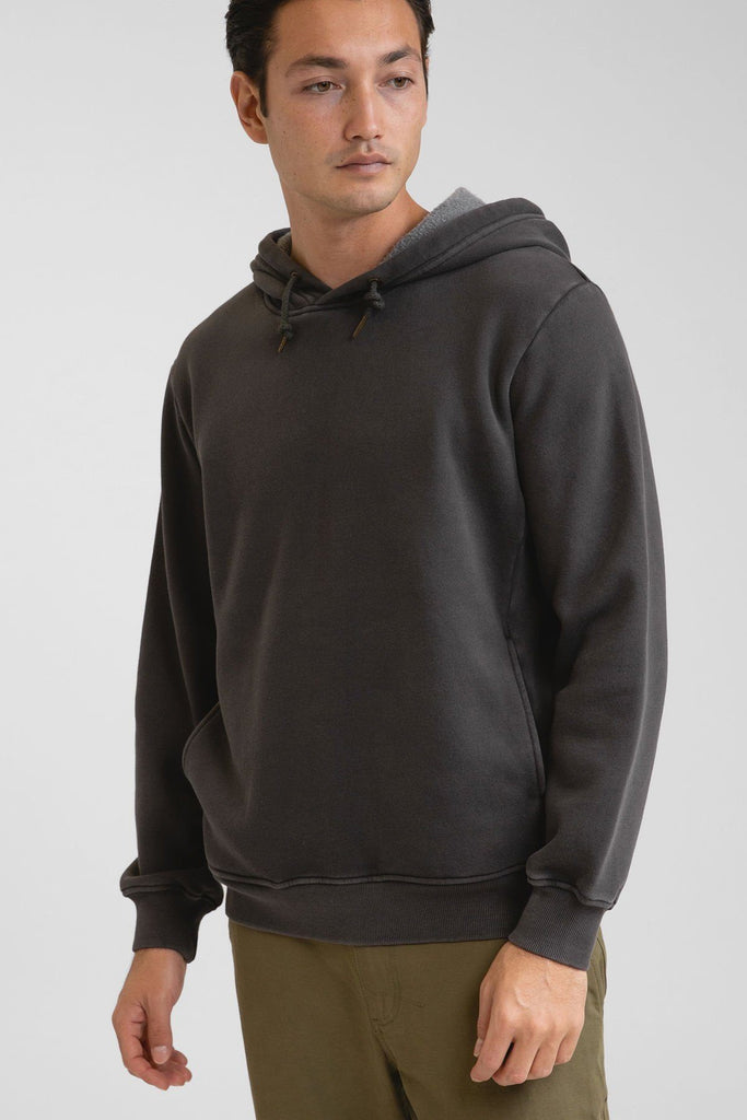 Rhythm Classic Fleece Hood Vintage Black M