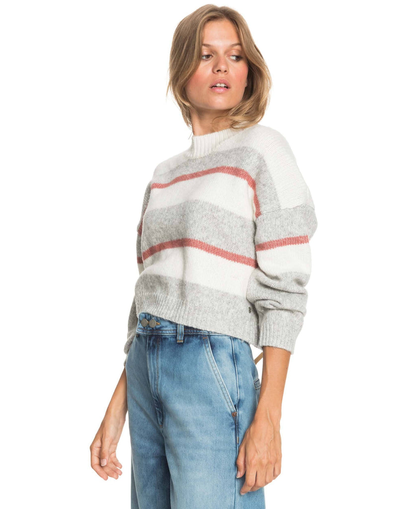 Roxy Blurred Memories Cropped Knit Jumper