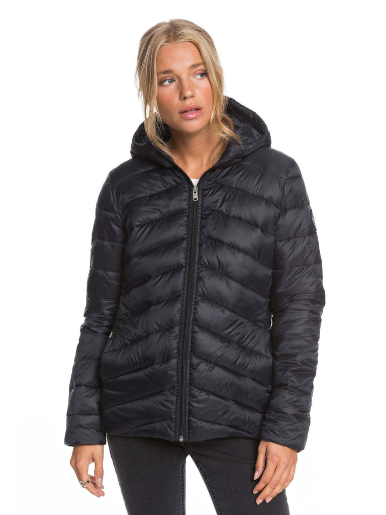 Roxy Coast Road Hooded Puffer Jacket