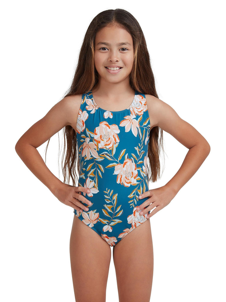 ROXY GIRLS SUMMER OF SURF ONE PIECE