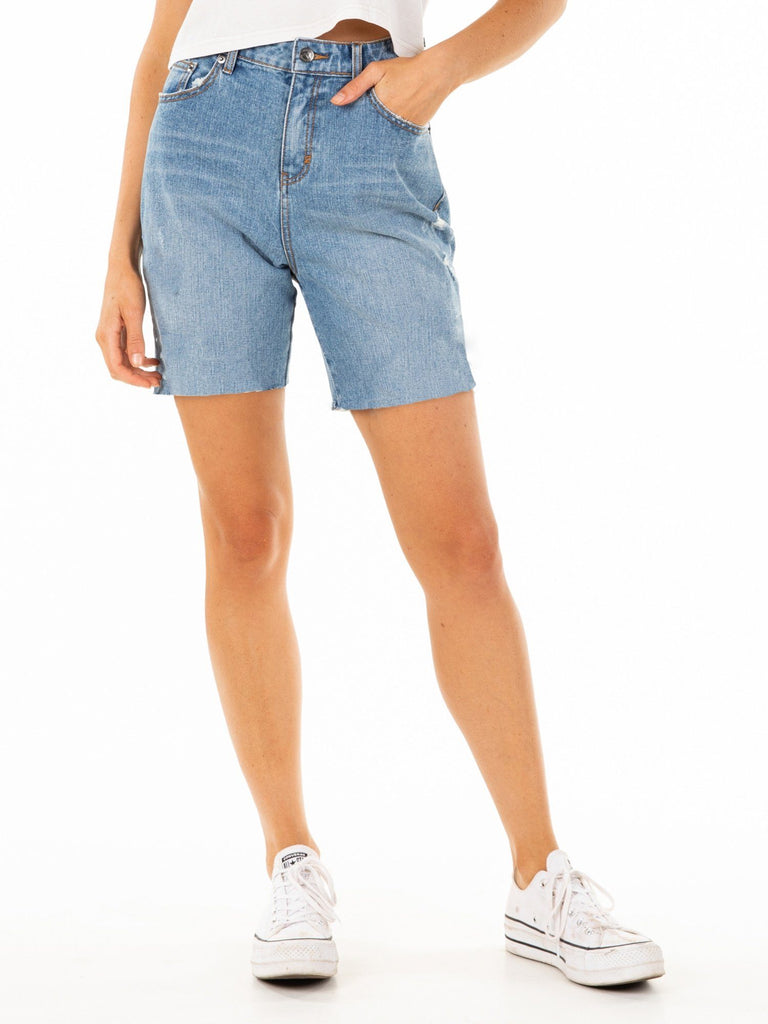 RUSTY ALL DAY LONG DENIM SHORTS