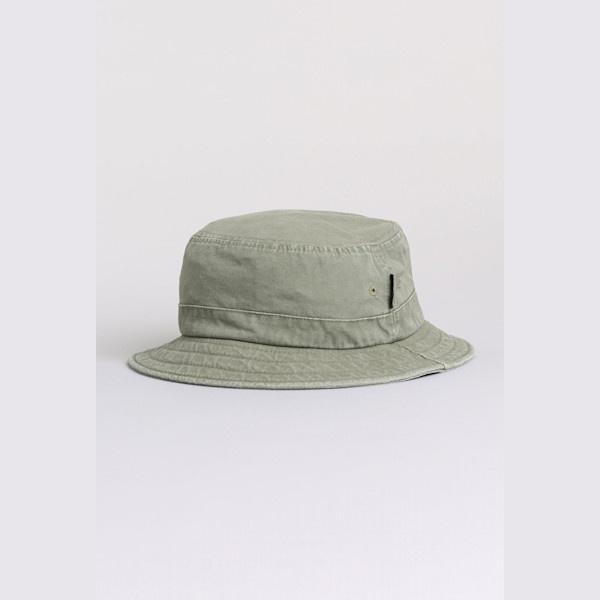 Rusty Boys Carolina Bucket Hat is a cotton canvas with wide brim.