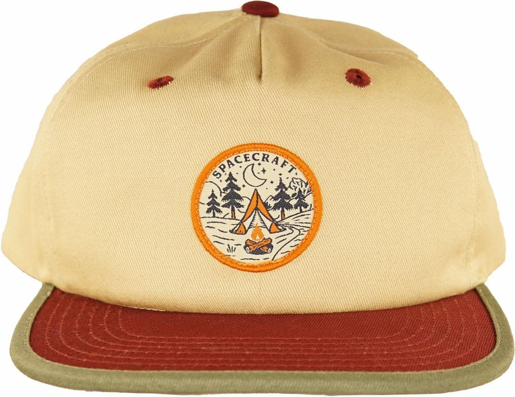 Spacecraft Happy Camper Cap
