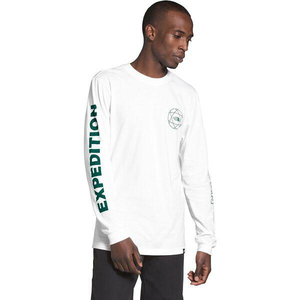 THE NORTH FACE LONG SLEEVE DOUBLE SLEEVE GRAPHIC TEE