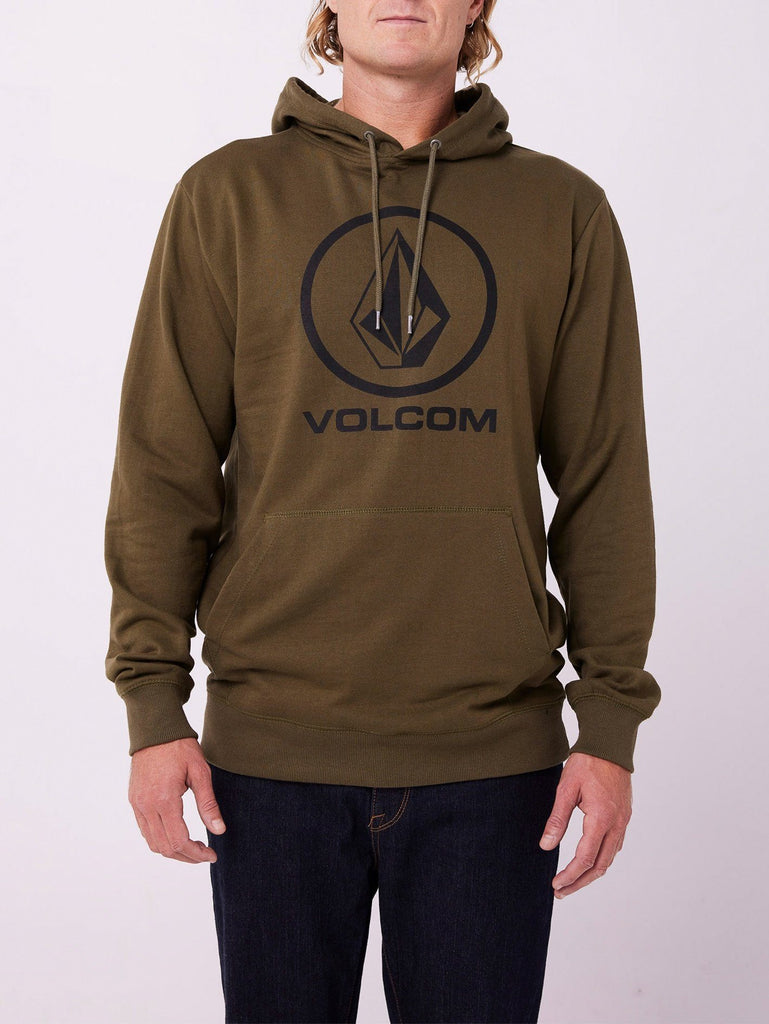 Volcom Brass Tacks 1.5 Pullover Fleece Military S