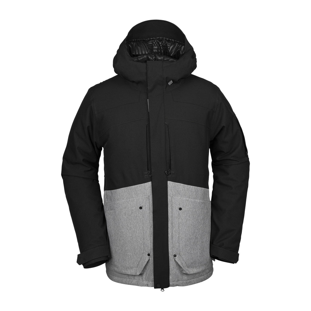 VOLCOM SCORTCH JACKET - HEATHER GREY S