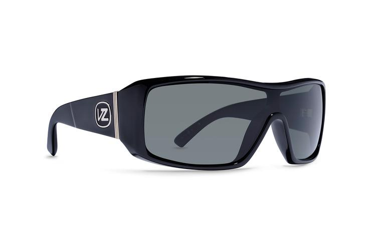 VonZipper Comsat Sunglasses Black Gloss Grey