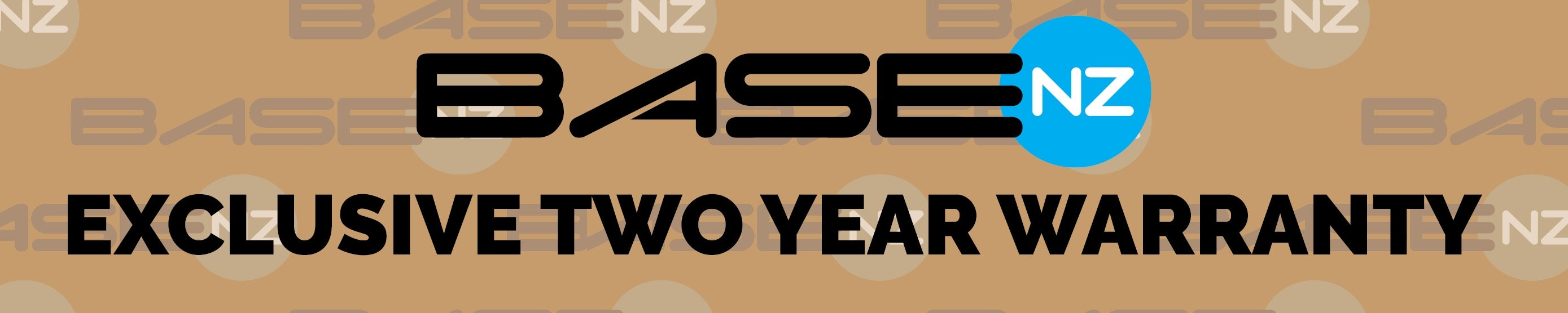 basenz exclusive two year warranty