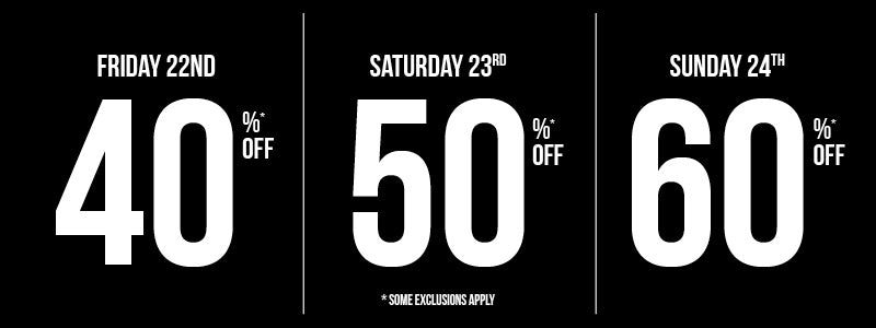 Clothing Clearance discounts