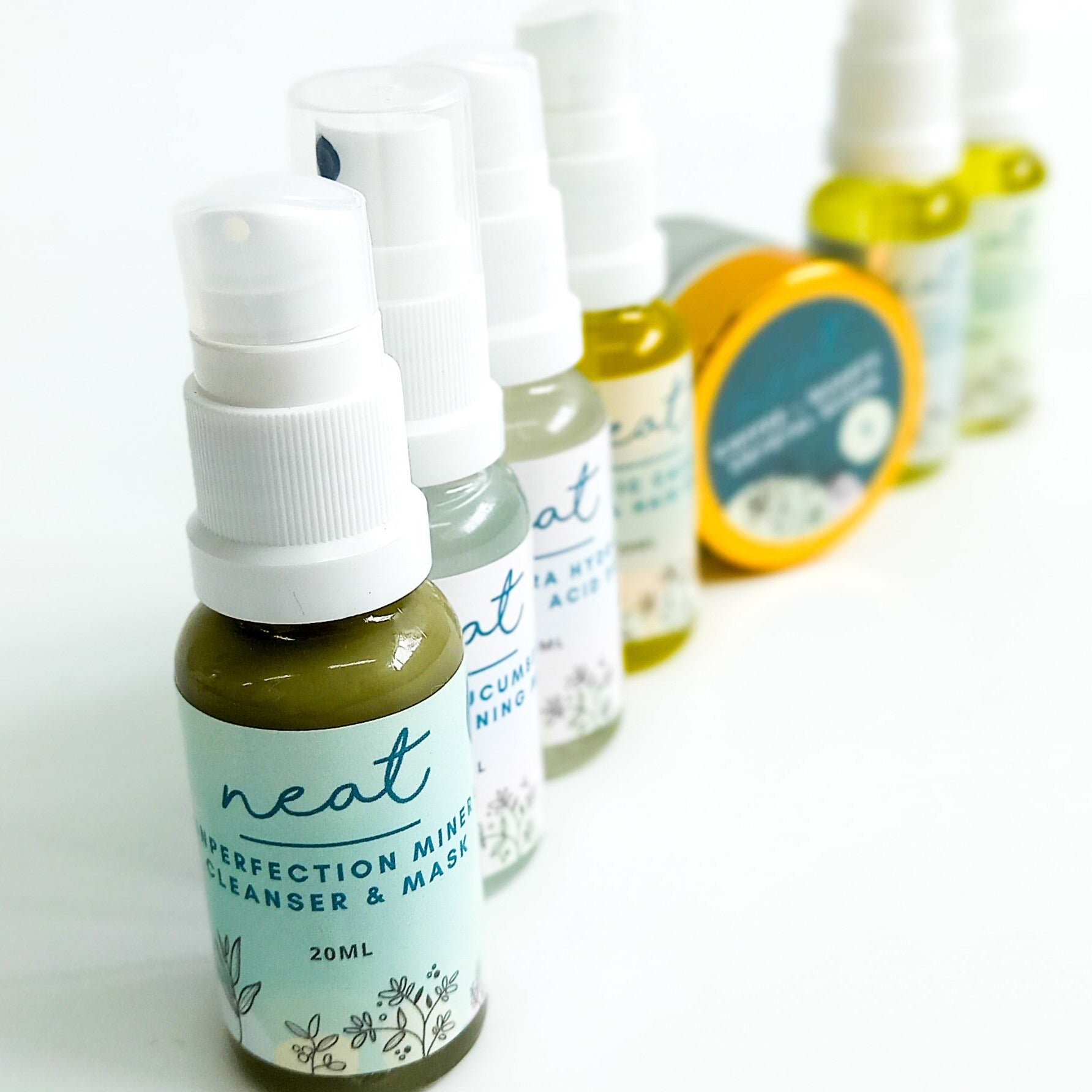 Mini Ultimate Skincare MG+ Sample | Travel Set - 100% Natural - Neat