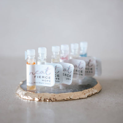 Fierce Fragrance Range: 1ml Tester & 10ml Roller - Neat Natural Products NZ