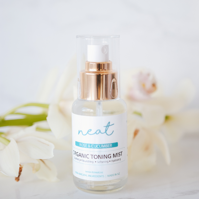 Organic Rose & Cucumber Toning Mist - Neat Natural Products NZ