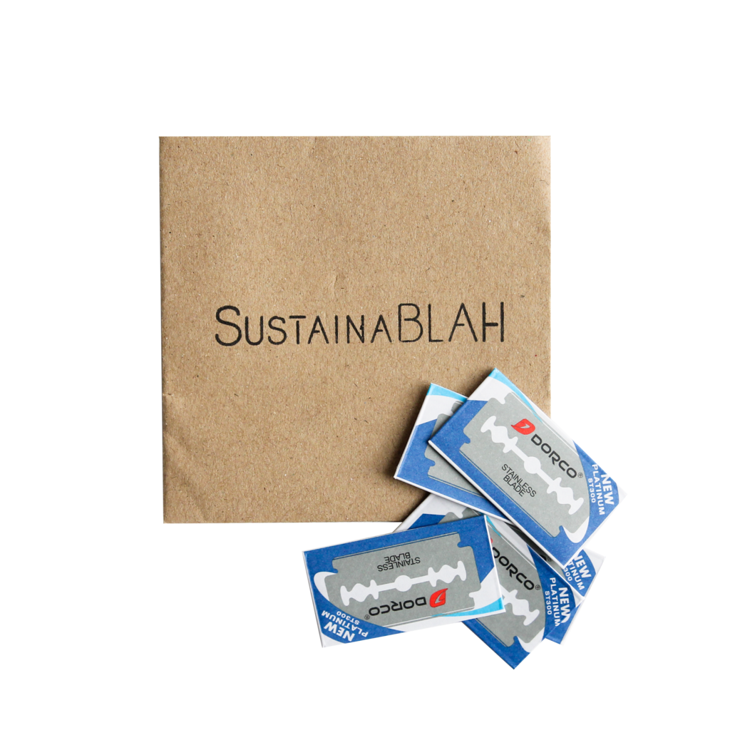 SustainaBLAH Safety Razor - 3 Colours - Neat Natural Products NZ