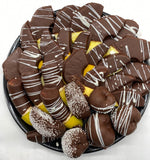Chocolate Dipped Fruit Platter - Fruits By Pesha