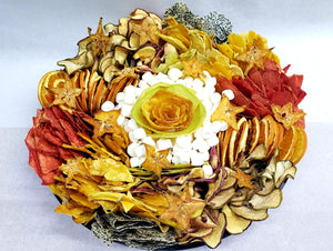 Rosh Hashanah 14 inch Dehydrated Platter - Fruits By Pesha