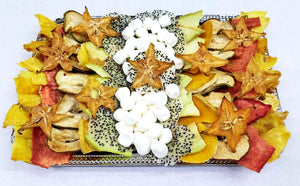 Rosh Hashanah 8 x 11 inch Dehydrated Platter - Fruits By Pesha