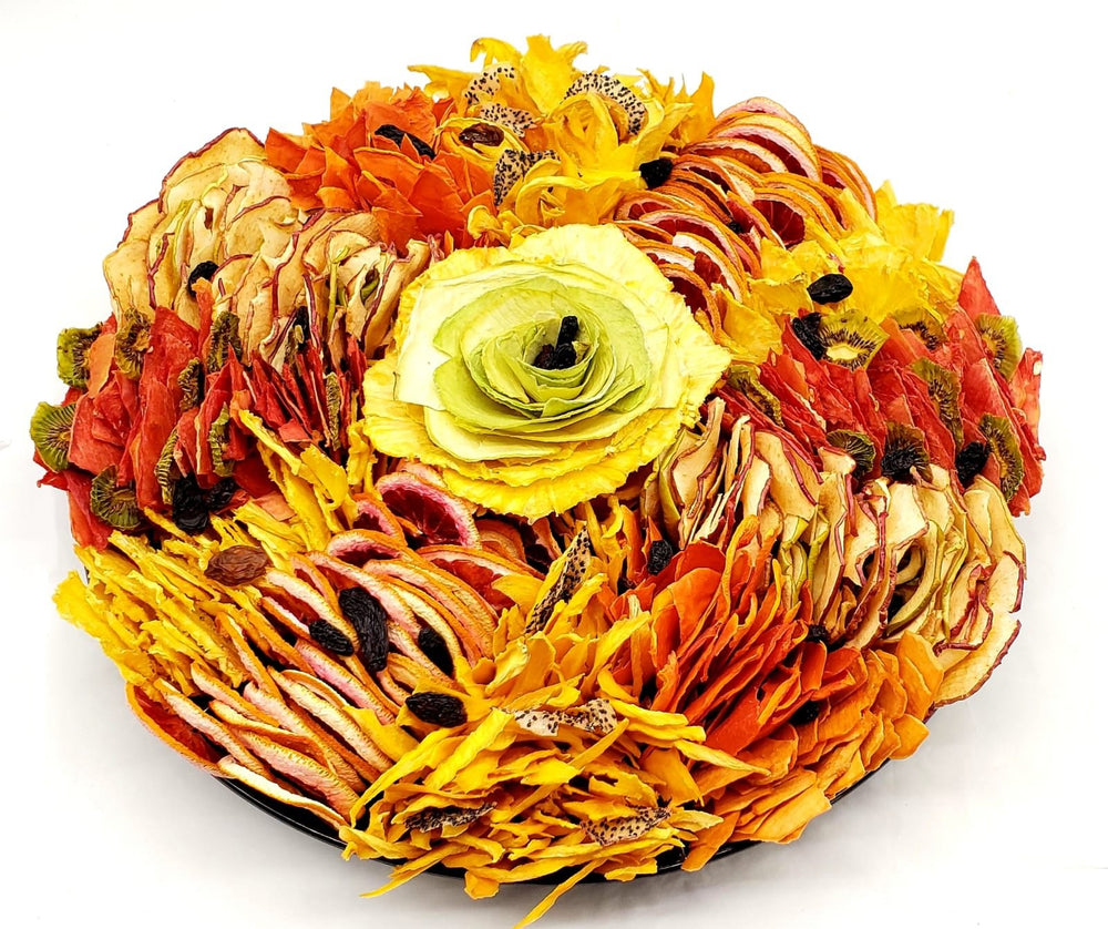 Dehydrated Fruit Platter - Variety  Bouquet - Fruits By Pesha