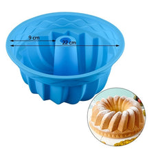 Load image into Gallery viewer, SILIKOLOVE 3D Baking Dishes Silicone Mould Baking Pan Cake molds Single Flower Round Shaped Bakeware Kitchen Accessories
