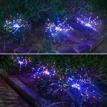 Load image into Gallery viewer, Fountain LED Solar Light Lawn Light