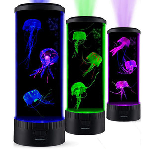 HEAR-HEAR Large Jellyfish Color Changing Mood Lamp With Remote