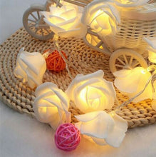 Load image into Gallery viewer, LED Rose String Lights
