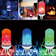 Load image into Gallery viewer, Lekker Multi-Color E27 LED Simulated Flame Light