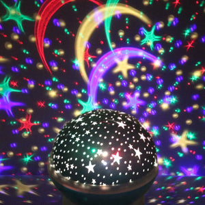 Lekker Starry Sky LED Night Light Projector