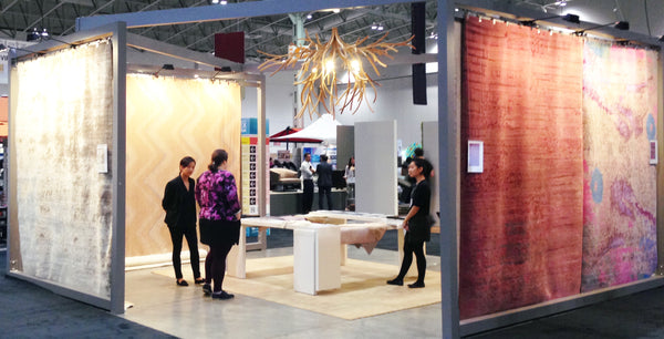 Amala Carpets at the IIDEX Show 2013